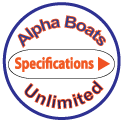 The AlphaBoats AR-101 AquaRake Water Management Boat Specifications